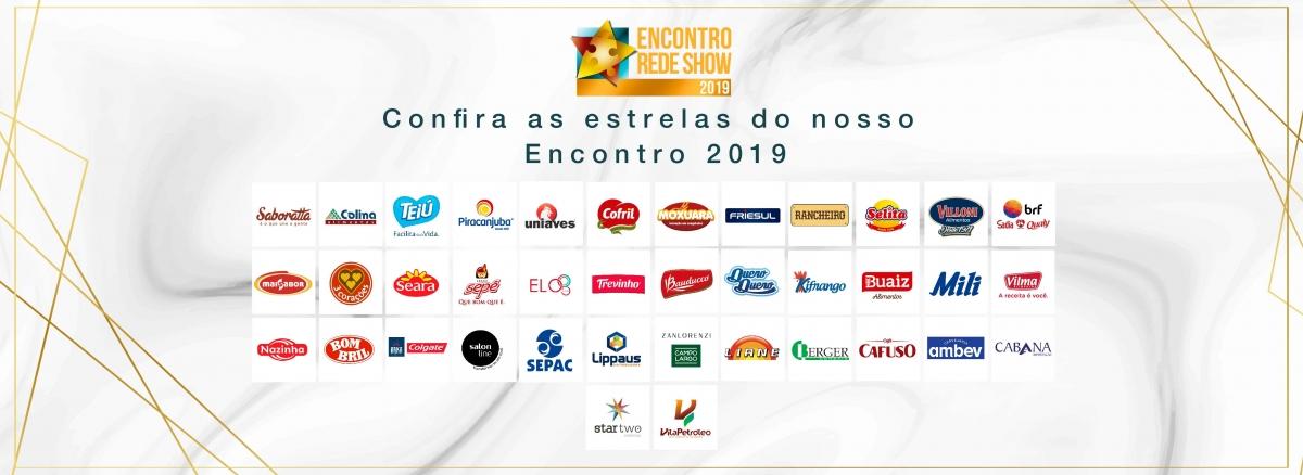 Parceiros do Encontro Rede Show 2019
